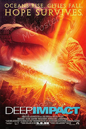 MCPosters Deep Impact GLOSSY FINISH Movie Poster - MCP178 (24