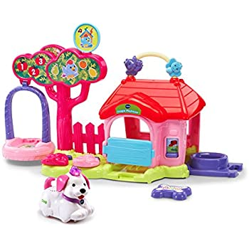 VTech Go! Go! Smart Animals Doggie Playhouse - Pink - Online Special Edition