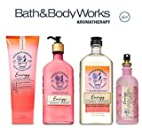 Bath and Body Works PLUMERIA MANDARIN Deluxe Spa Set Aromatherapy ENERGY ~ Body Wash & Foam Bath - Body Lotion ~ All Over Mist & Body Cream
