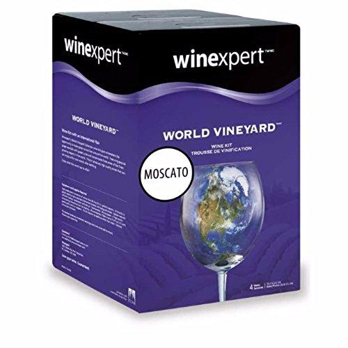 California Moscato (World Vineyard) Wine Ingredient Kit