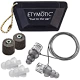 Etymotic Research ER20XS High-Fidelity Earplugs (Concerts, Musicians, Airplanes, Motorcycles, Sensitivity and Universal…