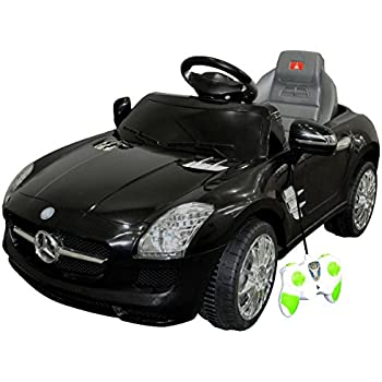costzon mercedes benz sls kids ride on car rc battery toy vehicle wmp3