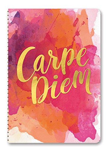 Orange Circle Studio 17-Month 2018 On-Time Weekly Planner, Carpe Diem