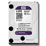 WD 4 TB WD Purple SATA III Intellipower 64 MB Cache Bulk/OEM AV Hard Drive 4 sata_6_0_gb 64 MB Cache 3.5-Inch Internal Bare or OEM Drives WD40PURX