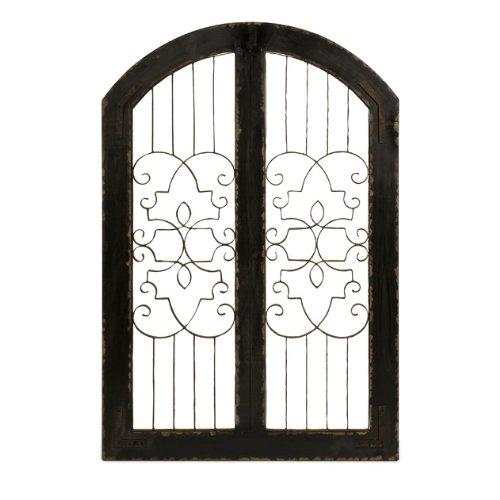 Cheap Imax 47367 Amelia Iron and Wood Gate