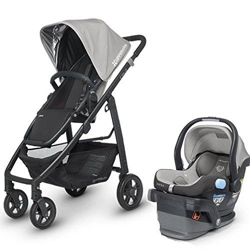 Uppa Baby Cruz Stroller w Mesa Infant Car Seat (Pascal)