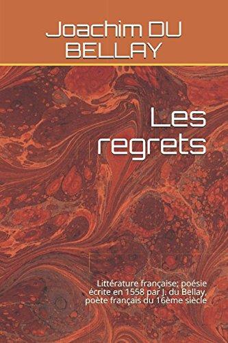 Amazonfr Les Regrets Littérature Française Poésie