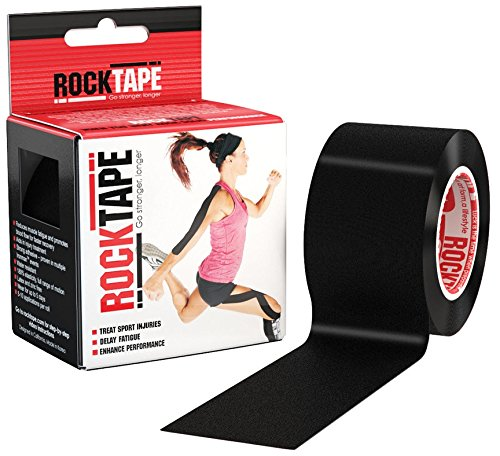 RockTape Kinesiology Tape for Athletes, Water Resistant, Reduce Pain and Injury Recovery – DiZiSports Store