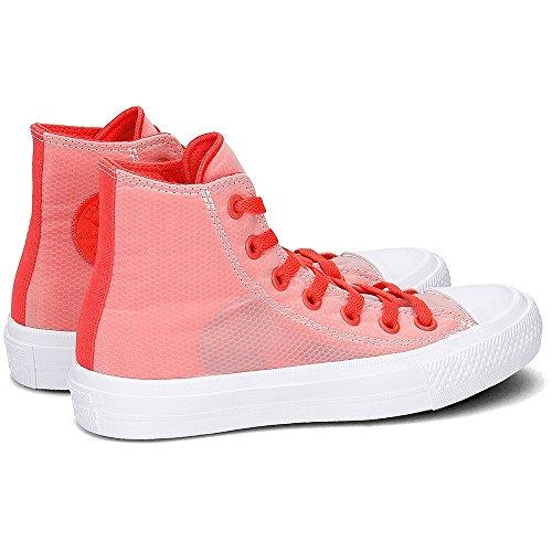 Converse Ctas Ii Hi Sneaker Unisex 155427C ULTRA RED/WHITE
