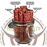 NEW TASTY Non-GMO Grass-Fed Beef Bars NO SUGAR MSG Free Gluten Free Nitrate/Nitrite Free Paleo Friendly and epic bars (Tasty Original, 12)