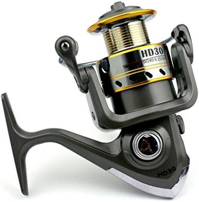 Spinning Carretes de pesca frontal descarga fuerza 500 – 6000 ...