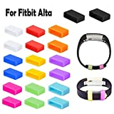 Vancle Mixed-Color Silicone Fastener Rings for Fitbit Alta, Flex