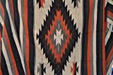 Mexican Blanket ''Tribal Diamond'' Burnt Umbre 80 x 50 Authentic PREMIUM XLarge Handwoven Southwestern Throw Serape Yoga Rug