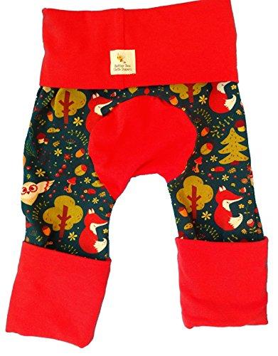 - Maxaloones, Baby & Toddler, Grow With Me Pants, Diaper Pants, Monkey Pants, Fox and Owl (Medium)