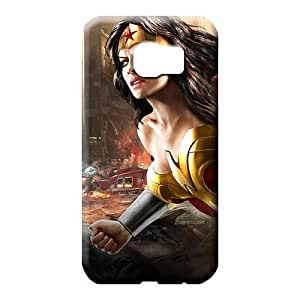 samsung galaxy s6 Eco Package Shockproof Cases Covers Protector For phone cell phone carrying shells wonder woman dc universe online