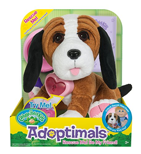 - Cabbage Patch Kids Adoptimals - Plush Pet Dog (Basset Hound)