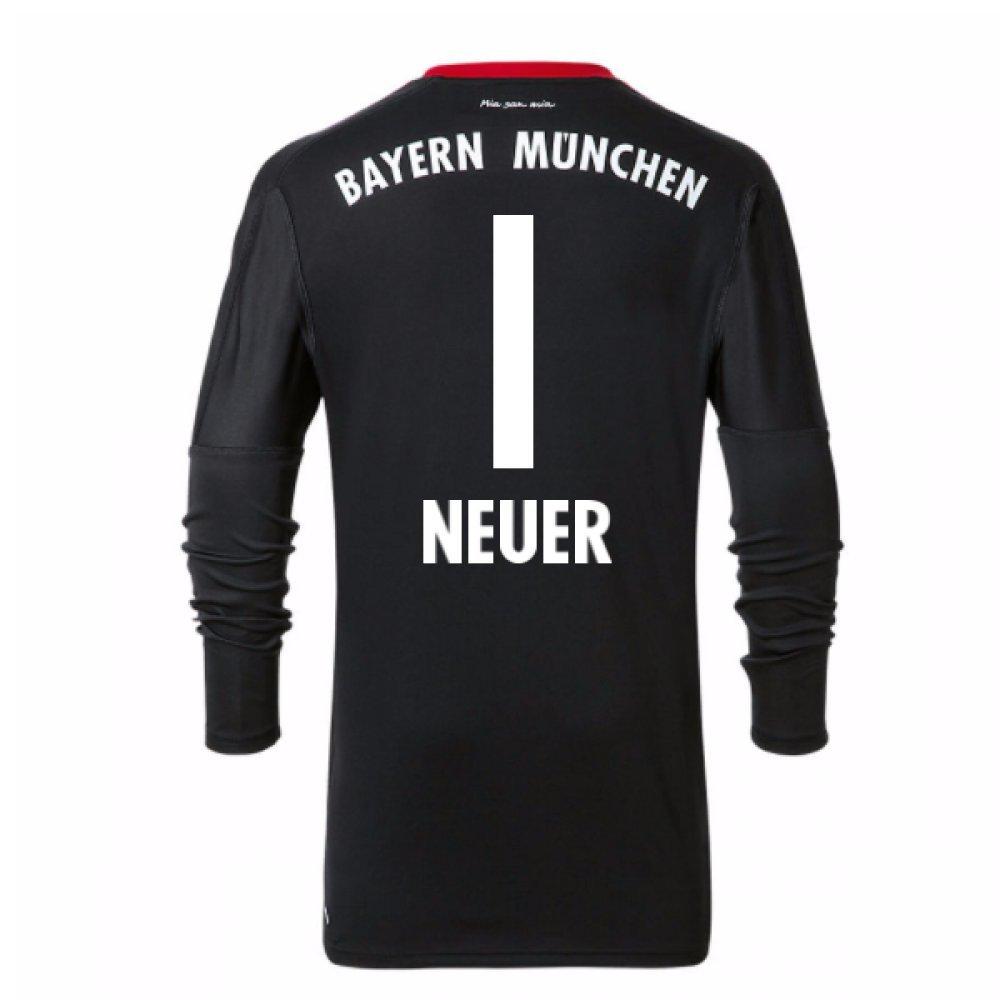 2017-18 Bayern Munich Home Goalkeeper Shirt (Neuer 1) B077YL59CW XL 44-46