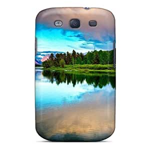 Galaxy S3 Case Cover Skin : Premium High Quality Amazing Lake Nature Lscape Case