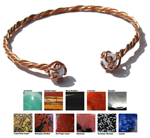4 Strand Copper Neck Torc with