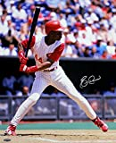 Eric Davis Signed Autographed Cincinnati Reds At Bat 16x20 Photo TRISTAR COA