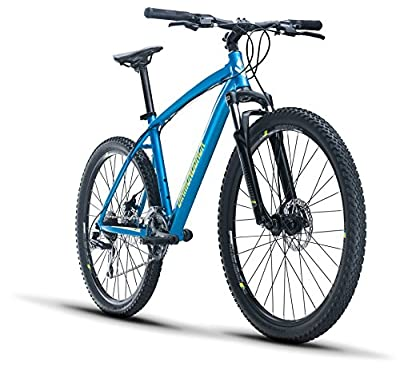 Diamondback Bicycles Overdrive 1 27.5 Hardtail Mountain Bike, Blue