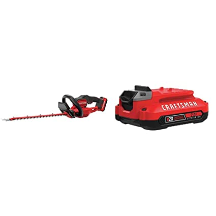 Amazon.com: CRAFTSMAN CMCHTS820D1 V20 22