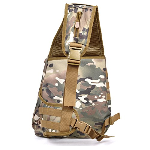 GOUQIN Zaino Outdoor Classico Moda L'Outdoor Unica Borsa A Tracolla Ramp Cross-Package Arrampicata Tour A Piedi Zaino Pacchetto Pacchetto Torace