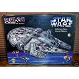Star Wars Millenium Falcon 3D Puzzle (Puzz-3D 857 Pieces)