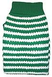 Amazing Pet Products Green W/White Stripe Dog Sweater Size 20