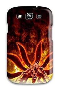 Hxy Fashion Protective Naruto In Six Tails Mode Case Cover For Galaxy S3