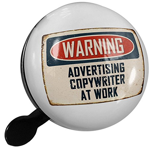 For sale Small Bike Bell Warning Advertising Copywriter Work Vintage Fun Job Sign - NEONBLOND