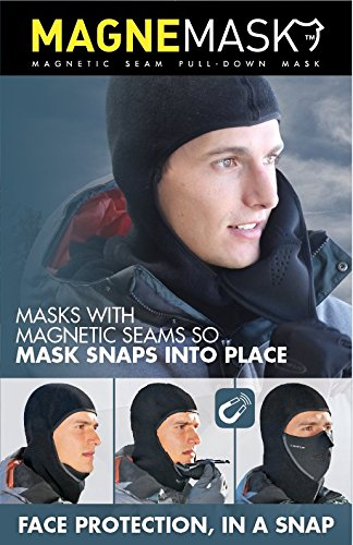 Seirus 4011691 Hws Magnemask Combo Clava-Black-Large/XL by Seirus (Image #2)