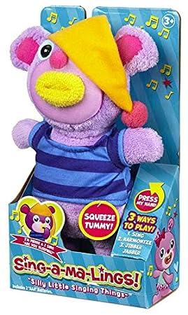 Funrise Sing-A-Ma-Lings Alphie Plush Sings ABC Song