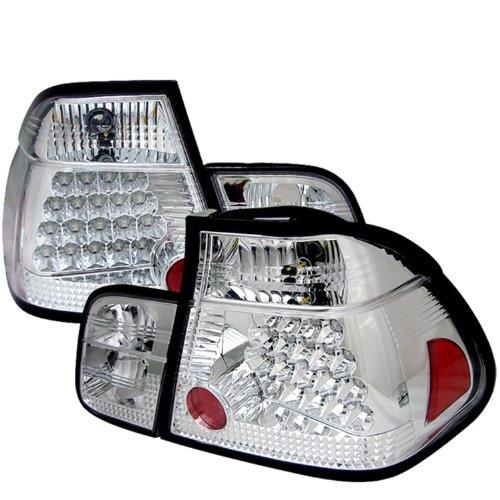 Spyder Auto BMW E46 3-Series Chrome LED Tail Light