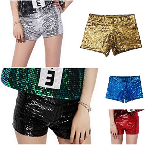 Estate Donna Party Dance paillettes Sexy Club Hot COMVIP Oro Pants Style1 wfHqBp6y