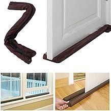 Buzfi Amazing Twin Door Draft Dodger, Guard Stopper, Money-Energy Saving Home Decor, Door Draft Stopper