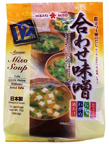 Hikari Miso Instant Awase Miso Variety Soup, 7 Ounce