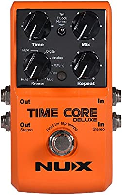 ammoon Efecto Pedal NUX TIME CORE DELUXE Electric Guitar Digital ...