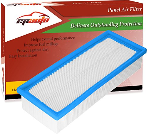 EPAuto GP154 (C35154/1) Replacement for Audi/Volkswagen Rigid Panel Engine Air Filter for Passat(2009-2017), Jetta (2009-2017), TT(2009-2015), Beetle(2012-2017), CC(2009-2017)
