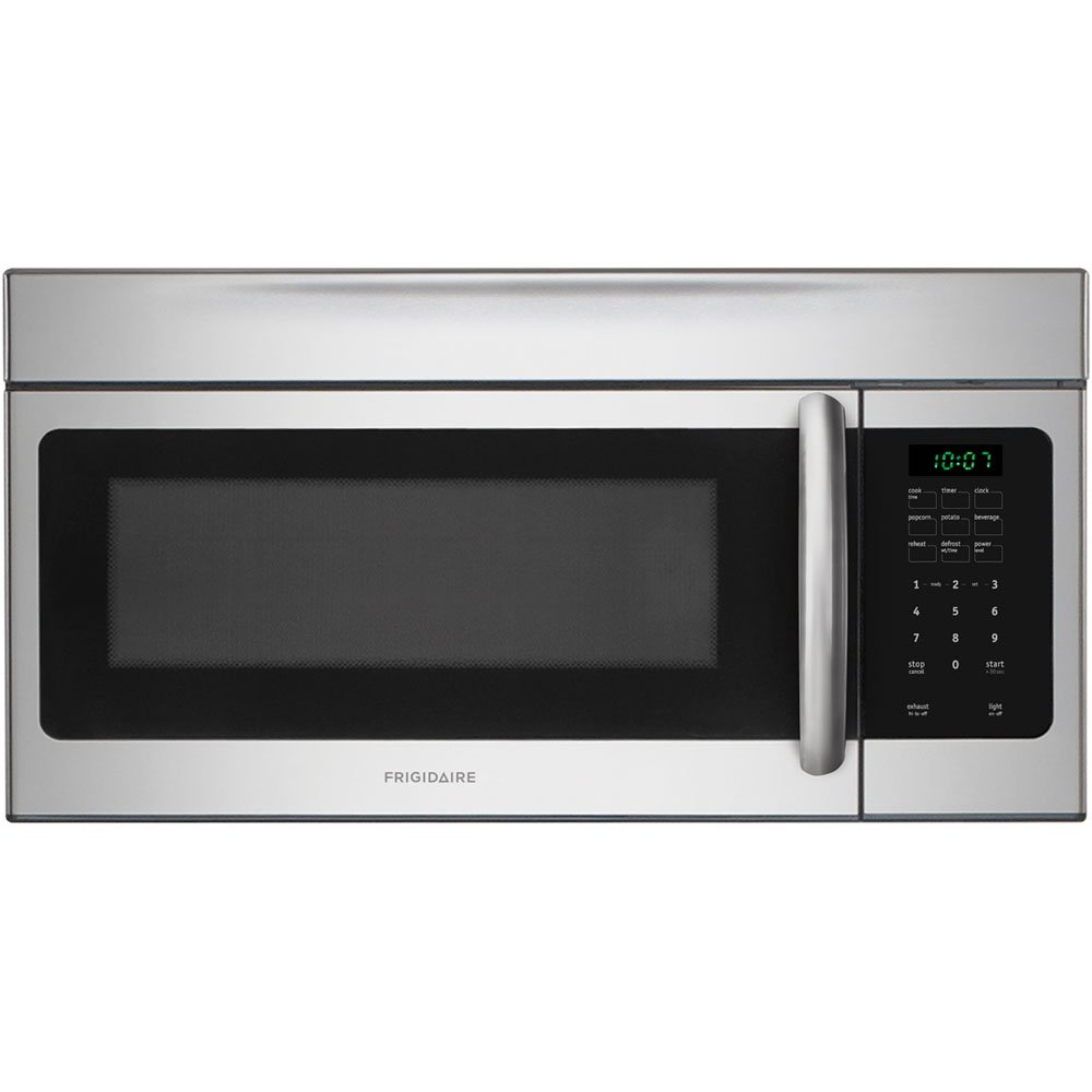 30'' 1.6 Cu. Ft. 1000W Over-the-Range Microwave Color: Stainless Steel by FRIGIDAIRE