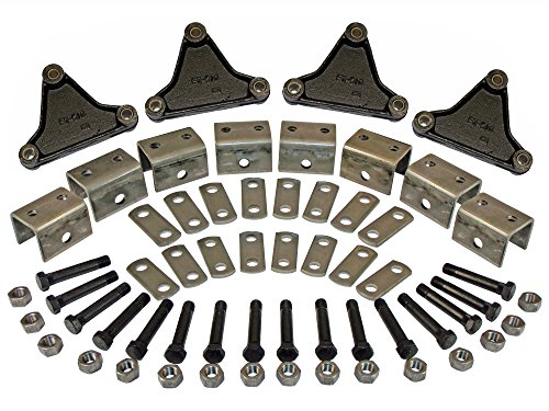 Triple Axle Hanger Kit (EK3-D102) For Double Eye Springs (Hanger Axle Triple)