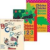 Chicka Chicka Boom Boom Pack: Chicka Chicka Boom Boom / Chicka Chicka 123 / Boom Chicka Rock