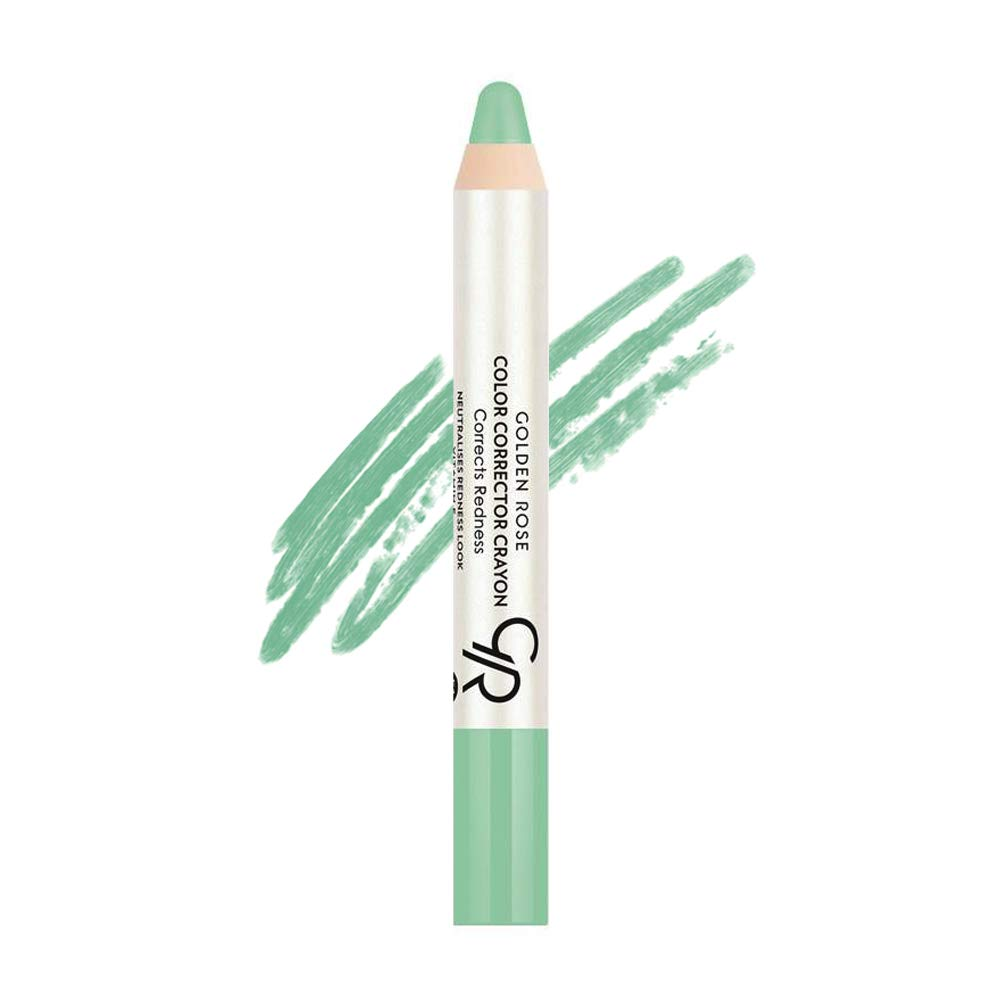 Golden Rose Color Corrector CC Pencil Green Fix Redness