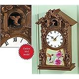 Hummingbird Cuckoo Wall Clock