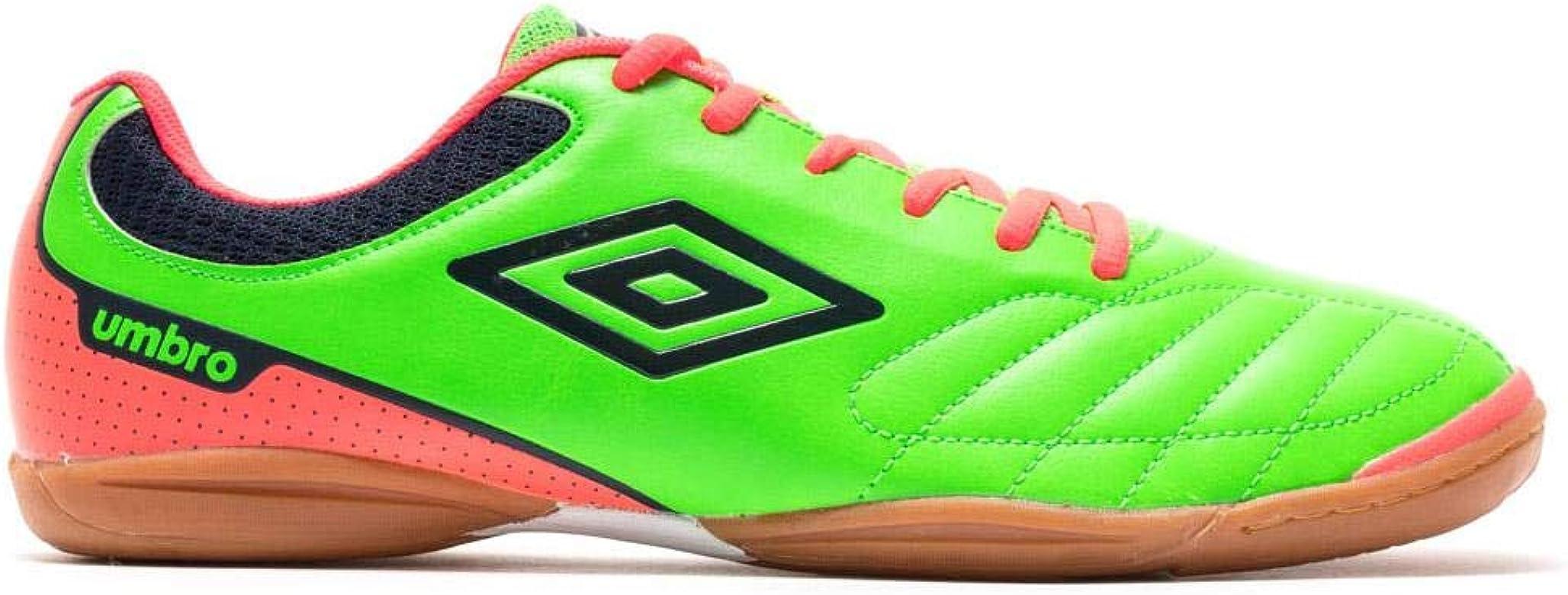 Umbro Futsal Attak IC, Zapatilla de fútbol Sala, Green-Orange-Navy, Talla 8 US (41 EU): Amazon.es: Zapatos y complementos