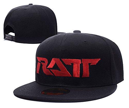 XINMEN Ratt Band Logo Adjustable Snapback Embroidery Hats Caps