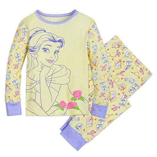 Disney Belle PJ PALS for Girls Size 6 Multi ()
