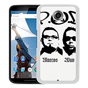 Beautiful Designed Cover Case With Pod Barcode Members Names Sign (2) For Google Nexus 6 Phone Case