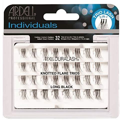 Ardell Individual Trios Eyelash, Black, Long