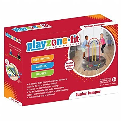 Playzone-fit Jumper, Yellow/Red/Green/Blue/Black, Junior: Sports & Outdoors